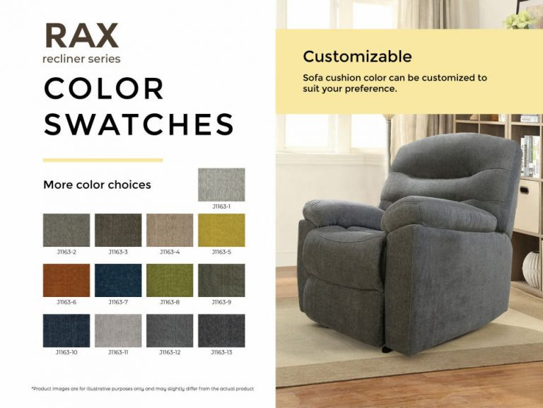 rax color swatches